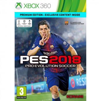 PES2018 PREMIUM XBOX360 PRO EVOLUTION SOCCER 2018 PREMIUM EDITION