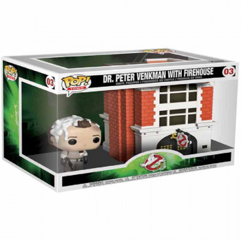 POP FIGURA GHOSTBUSTERS VINYL PETER W/HOUSE