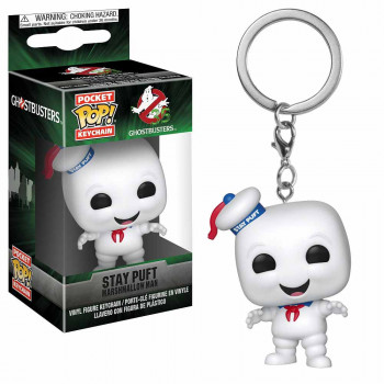 POP FIGURA GHOSTBUSTERS KEYCHAIN STAY PUFT