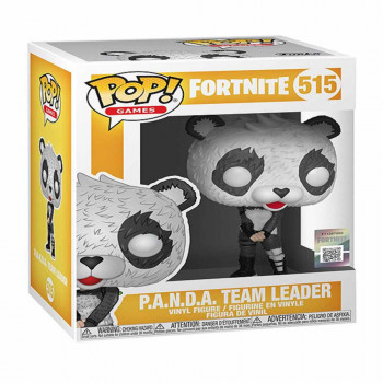 POP FIGURA FORTNITE P.A.N.D.A. TEAM LEADER