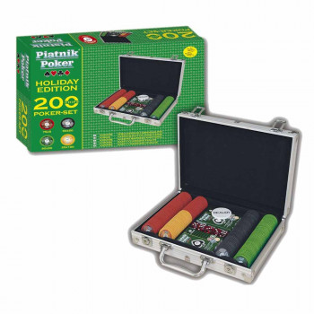 PIATNIK POKER SET 200 CIPOVA