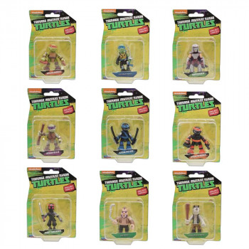 TOTALLY TURTLES MINI FIGURA BLISTER ASST