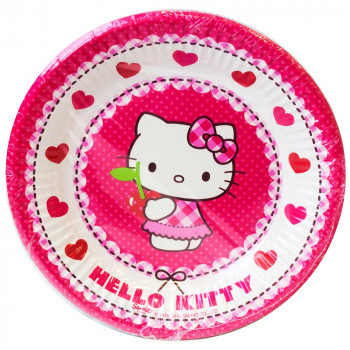 HELLO KITTY HEARTS PARTY TANJIRI 1/8