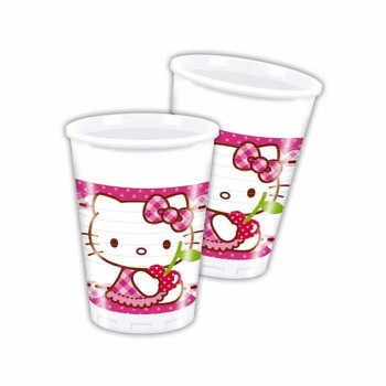 HELLO KITTY HEARTS PARTY CASE 1/8