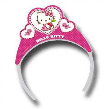 HELLO KITTY PARTY TIARA 1/6