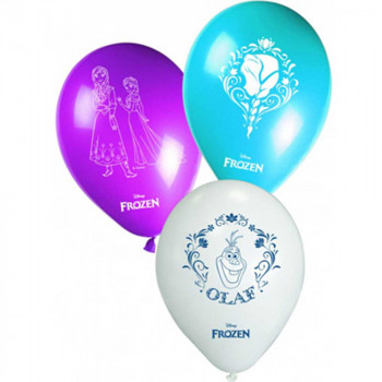 FROZEN PARTY BALONI 1/8 KOM
