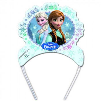 FROZEN PARTY TIARA 1/6 KOM