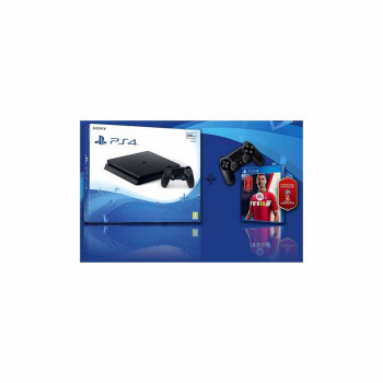 PLAY STATION KONZOLA PS4 500GB CRNA + PS4 DUALSHOCK CRNI + FIFA 18