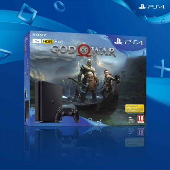 PLAYSTATION KONZOLA 1TB SLIM + GOD OF WAR
