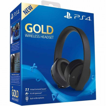 PLAYSTATION OPREMA PS4 GOLD WIRELESS HEADSET SLUSALICE