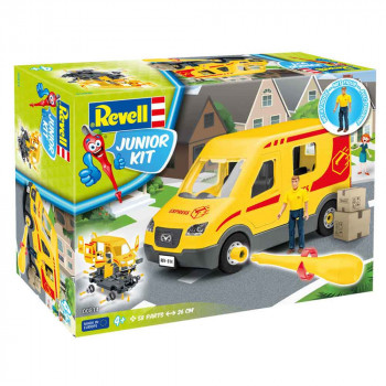 REVELL MAKETA DELIVERY TRUCK WITH FIGURE