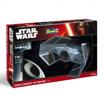 REVEL MAKETA  DARTH VADER'S TIE FIGHTER