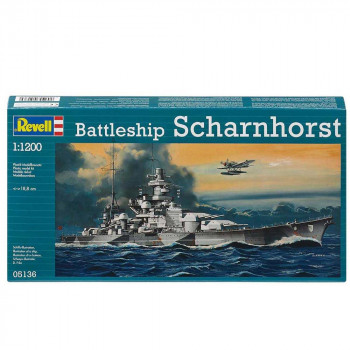 REVEL MAKETA  BATTLESHIP SCHARNHORST