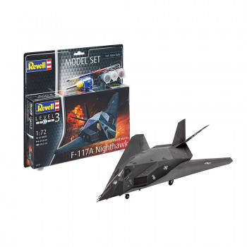 REVELL MAKETA MODEL SET F-117A NIGHTHAWK STEAL