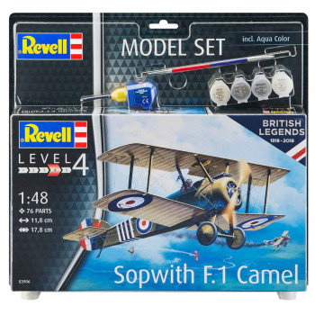 REVELL MAKETA MODEL SET SOPWITH CAMELS