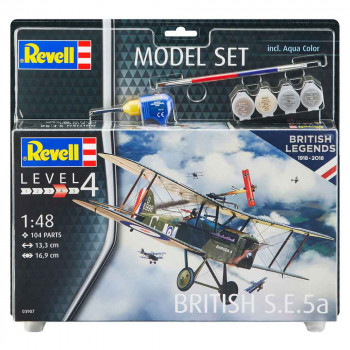 REVELL MAKETA MODEL SET BRITISH S.E. 5A
