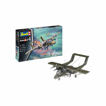 REVELL MAKETA MODEL SET OV-10A BRONCO