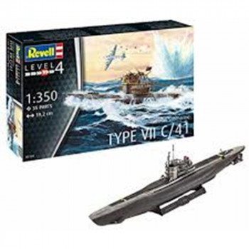 REVELL MAKETA MODEL SET GERMAN SUBMARINE TYPE