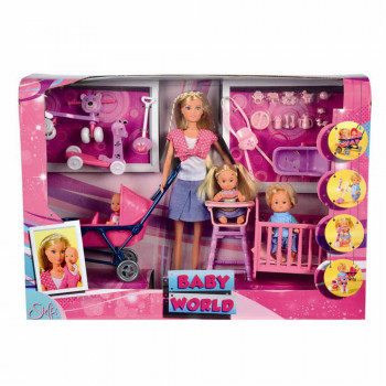 STEFFI LUTKA BABY WORLD SET