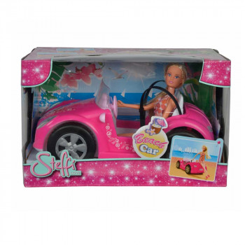 STEFFI LUTKA BEACH CAR SET