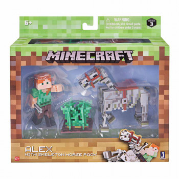 MINECRAFT ALEX WITH SKELETION PACK