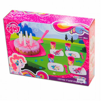 ECOIFFIER MY LITTLE PONY SET TORTA
