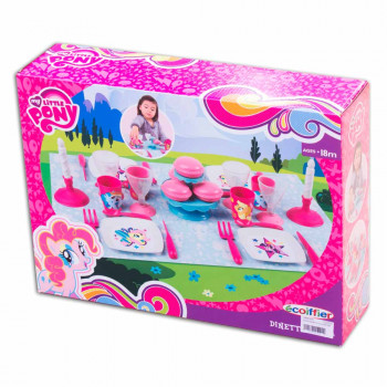 ECOIFFIER MY LITTLE PONY SET ZA VECERU