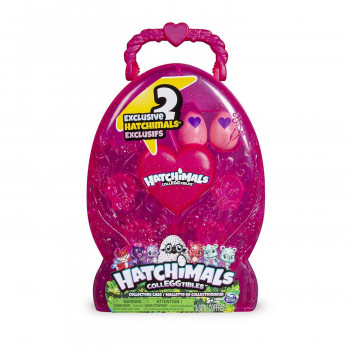 HATCHIMALS VITRINA JAJE SET