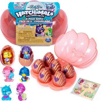HATCHIMALS SKOLJKICA SET 6 JAJA