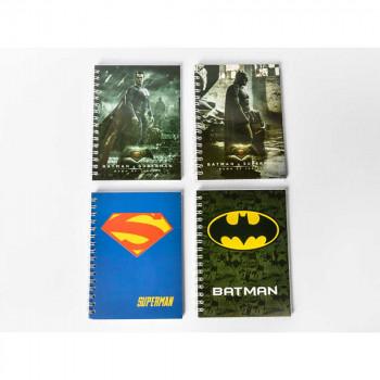SUPERMAN & BATMAN BLOKCIC SA SPIRALOM A6