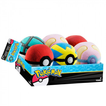 TOMY POKEMON POKEBALL PLIS