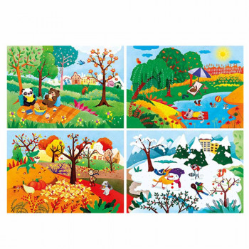 CLEMENTONI PUZZLE 20+60+100+180 NO LICENSE
