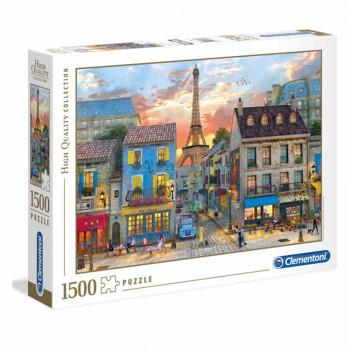 CLEMENTONI PUZZLE 1500 STREETS OF PARIS