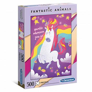 CLEMENTONI PUZZLE 500 FANTASTIC ANIMALS 1