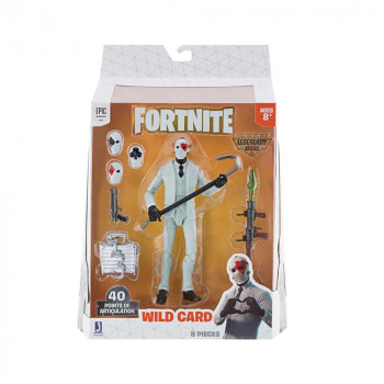 FORTNITE LEGENDARY FIGURA WILD CARD