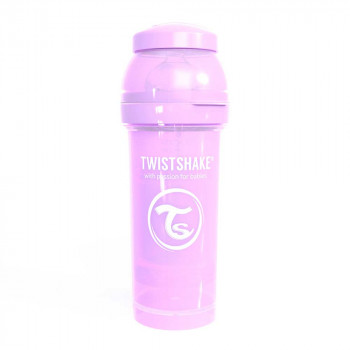 TWISTSHAKE FLAŠICA ZA BEBE 260ML PASTEL PURPLE