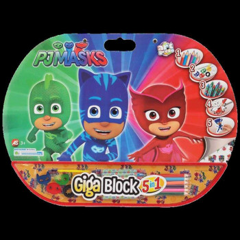 AS COMPANY GIGA BLOCK 5 IN 1 PJ MASKS