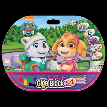 AS COMPANY GIGA BLOCK 5 IN 1 PAW PATROL SKYE