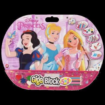 AS COMPANY GIGA BLOCK 5 IN 1 PRINCESS