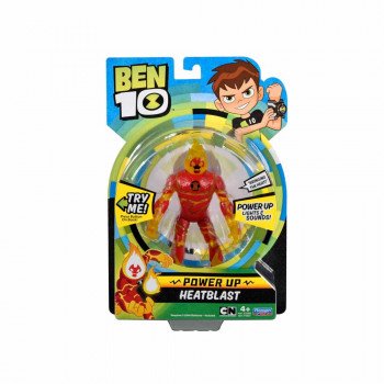 BEN TEN DELUXE POWER UP - HEATBLAST /3