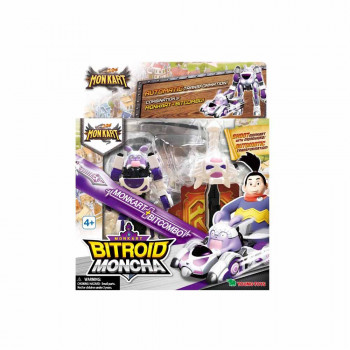MONKART TRANSFORMERS ROBOT BITROID MONCHA