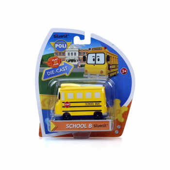 ROBOCAR SCHOOL BUS DIE-CAST