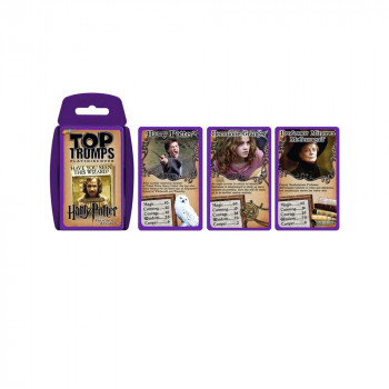 TOP TRUMPS HARRY POTTER I ZATVORENIK IZ AZKABANA KARTE