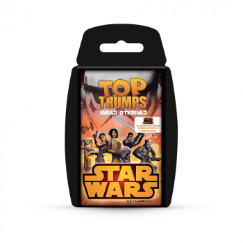 TOP TRUMPS STAR WARS KARTE