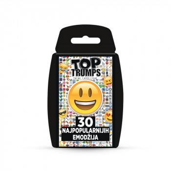TOP TRUMPS TOP 30 EMOTIS KARTE