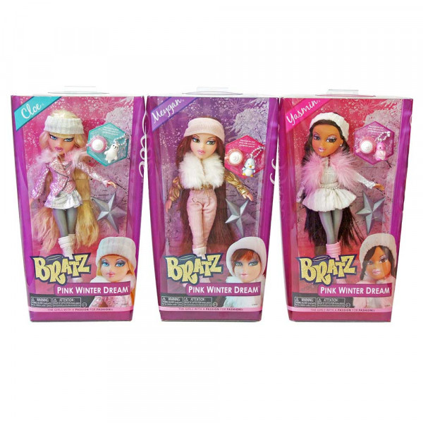 BRATZ LUTKA PINK WINTER