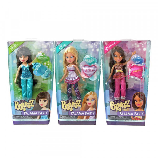 BRATZ LUTKA PIDZAMA PARTY