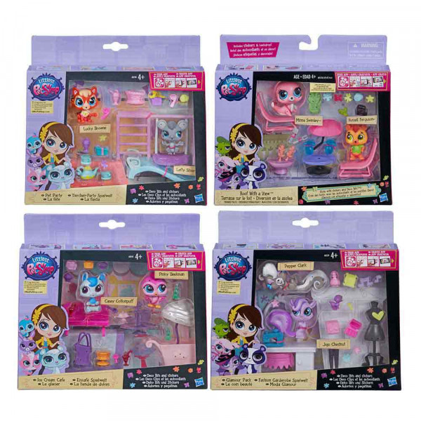 LITTLEST PET SHOP DEKOR ZA POZORNICU