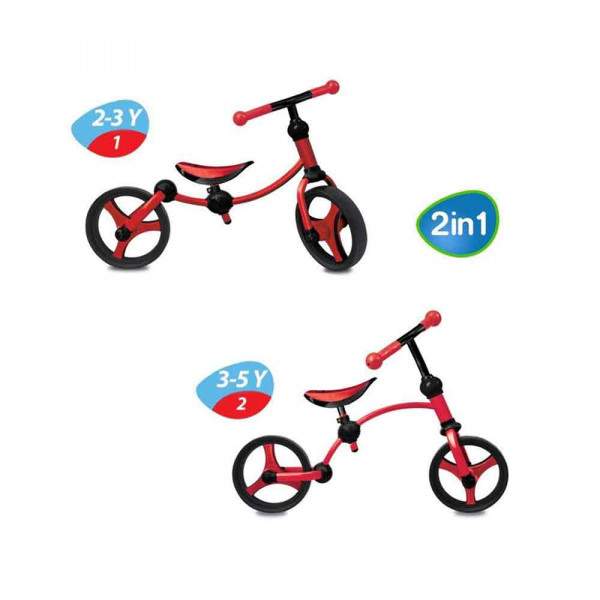 SMART TRIKE BICIKL RUNNING BIKE CRVENI