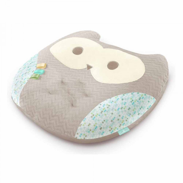 BRIGHT STARTS JASTUK LOUNGE BUDDIES INFANT POSITIONER - IN OWL 10085